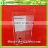 DDD-0083 Trade Assurance Chinese Factory Wholesale Wall Hanging Clear Plastic Suggestion Box