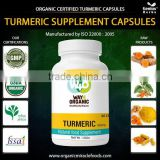 The First Grade Organic Turmeric Capsules For Sales