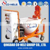 dry mix plaster gypsum spraying machine for wall with colorant