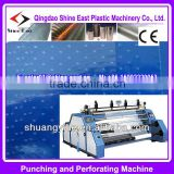 Micro- perforated Plastic fruit / food Film Punching and Perforating Machine for PVC PP PE LDPE HDPE casy poly prop film