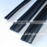 In-side glass rubber strip profile(EPDM, NBR, CR, SILICONE, PVC, composite)