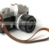 Boshiho Leather Safety Belt Strap Protective Camera Hand Strap Leather Camera Wrist Strap