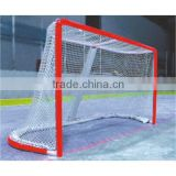 Hockey Goal Backstop Kit Targets Ice Puck Stick Outside Roller Practice Net