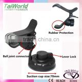 2016 HOT Sale mobile accesories windshield phone mount cradle with special designs clips