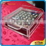 Unique customized design Acrylic Jewelry Display Set for ring and earring jewelry display stand wholesale from China