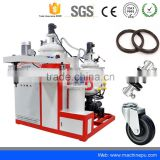 China hot sale two components polyurethane injection elastomer casting machine for PU roller