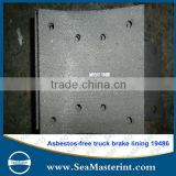 High quality non-asbestos brake lining for HINO OEM No.2303-36311 OH