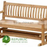 Glider Bench - Exporter Wooden Outdoor Furniture Use