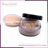 highlighting powder pressed powder puff cosmetic, high quality loose powder foundation filler