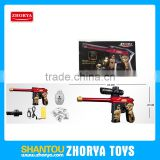 Zhorya hot selling cool red color BO water bullet gun toy BO gun toy for boys