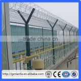 Industrial area/Courtyard airport security fence/airport fencing top razor blade wire(Guangzhou Factory)