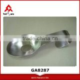 Stainless steel long handle soup ladle holder spoon rest
