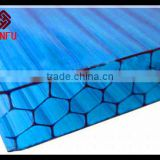 Polycarbonate Panel solar Construction material, palram polygal cellular polycarbonate hollow sheets