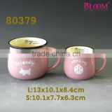 High Quality Porcelain Coffee breakfast Mug