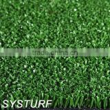 Natural Appearance Artificial Grass for Gardens Decoration, 2500Dtex 10mm Synthetic Turf