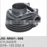 Motorcycle cylinder for GY6-125 D52.4