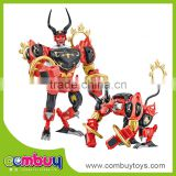 Hot sale deformation toys plastic game robot toys for kids