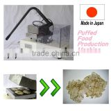 Japanese and Functional sea food Puffed Food Machine Wholesale