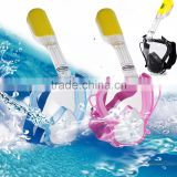 Scuba Mask Full Face Diving Glasses Goggles Swimming Snorkel Breath Tool For Kid