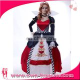 Sexy medieval Burlesque Cospaly Women Dancing Queen Costume
