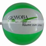 promotional inflatable beach ball in pvc material ( non toxic )