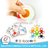 High quality plastic hot items toy light hand spinner