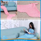 Hot style candy color Mermaid Blanket cool christmas gifts