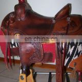 Horse Custom trail saddle - western saddle