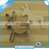 Dog shape stainless steel bulk cookie cutters