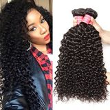 Afro Curl Loose Weave Brazilian Tangle Free Curly Human Hair Blonde 12 Inch