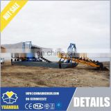 chinese bucket chain gold dredger machne 80-100 m3/h output