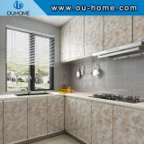 Marble Style adhesive Oil Proof kitchen Wall Sticker