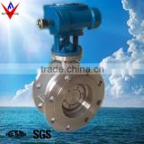 Carbon Steel Flanged Metal Seat Butterfly Valve