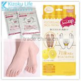 2016 feet dead skin removal amazing plus foot mask& Amazing plus 7 Days Feet Dead Skin Removal Baby Foot Peeling Mask