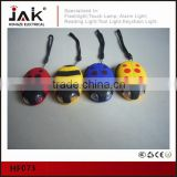 JAK HF073 Lady Beetle 2 LED Hand Crank Flashlight