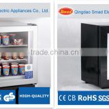 21L-100L small portable mini countertop glass door ice cream display freezer                                                                         Quality Choice