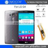 Ultra Thin 9H Hardness Front LCD HD Premium Anti-Scratch Tempered Glass Screen Protector for LG G4