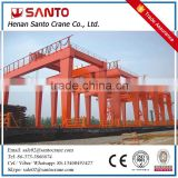 With Trade Assurance CE/ISO Standard Steel Structure 20Feet 40Feet Model U-Frame Double Girder Container Gantry Crane Price