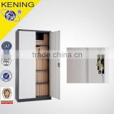 double swing door steel storage filing cabinet