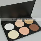 6 color make up palette contour makeup kits brand name makeup