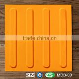 30mm*30mm width point and strip rubber blind brick tactile indicator