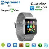 E-MI Newest sleep monitor Android gps smart watch SIM card TF mp3 mp4 for apple Android Phones                                                                         Quality Choice