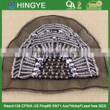 Wholesale high quality handmade beaded applique for clothing decoration NH-002                                                                         Quality Choice