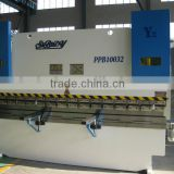 High precision steel plate bending machine for Russia 100Ton x 3200mm CNC Hydraulic press brake