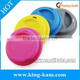 Silicone coffee cup lid , eco-friendly reusable silicone cup lid manufactory                                                                         Quality Choice