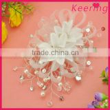 China fashion acryilc bridal wedding hair accessories for girl WHD-021