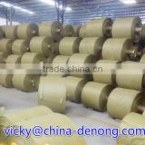 Recycled PP woven rolls / fabric roll /tubular fabric for making contruction waste, building garbage bags