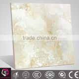 Cheap polished galzed cream jade marble tile 60x60