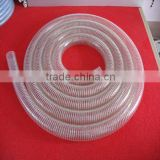 Weifang Alice high quality clear spiral steel wire reinforced PVC hose                                                                         Quality Choice