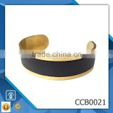 gold silver plate wholesale permanent bracelet stainless steel jewelry